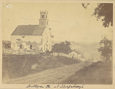 Lutheran Church, Sharpsburgh, Maryland, September 1862