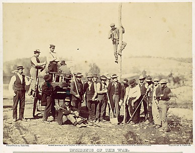 Military Telegraphic Corps, Army of the Potomac, Berlin, October 1862