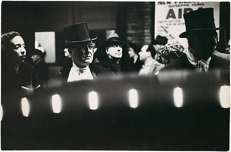 [Opening Night, Metropolitan Opera: Men in Top Hats]