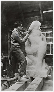 [William Zorach Carving