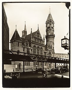 [Jefferson Market Court, Southwest corner of Sixth Avenue and West 10th Street, Manhattan]
