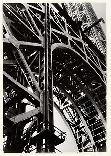 [George Washington Bridge Under Construction]