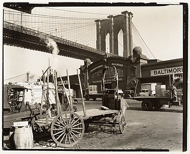 Brooklyn Bridge, With Pier 21, Pennsylvania R.R.