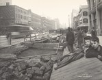 [Interborough Rapid Transit (IRT) Construction, Fourth Avenue Near 18th Street, New York City]