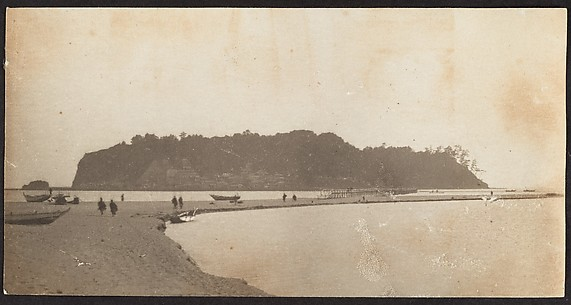 [View of Beach and Island]