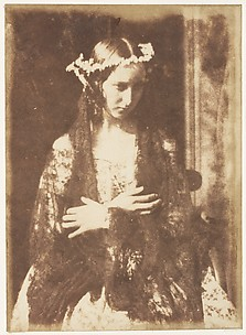 Miss Kemp as Ophelia