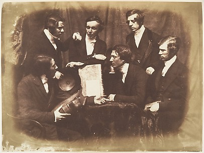 Prof. Fraser, Rev. Welsh, Rev. Hamilton, and Three Other Men