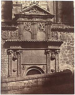 Portal of the Convent of Sancti Spiritu, Salamanca