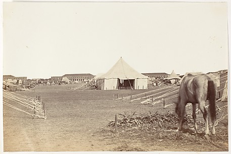 [Part of Governor General's Camp at Cawnpoor,1859]