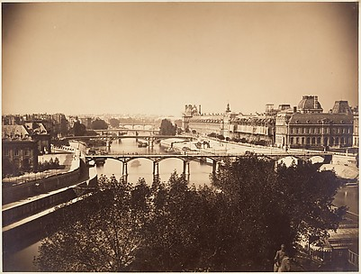 [View of the Seine, Paris]