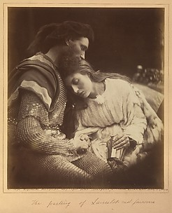 The Parting of Lancelot and Guinevere