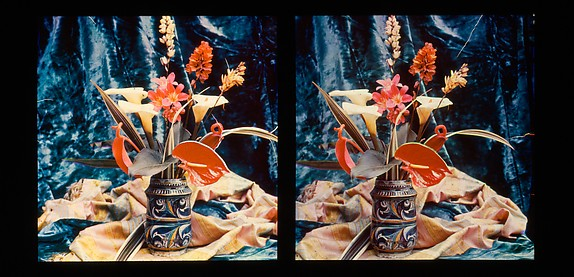 [Still Life of Flowers in a Stein]