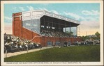 Grand Stand and Bleachers, Bethlehem Steel Co. Athletic Field, Bethlehem, Pa.