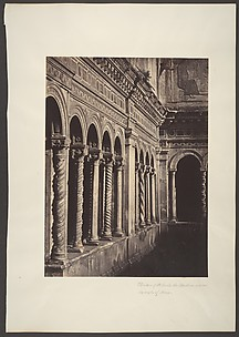 Cloisters of St. Paul's, the Basilica, Outside the Walls of Rome
