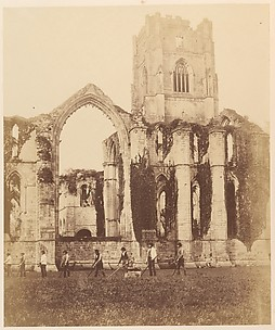 Fountains Abbey.  East Window and Tower