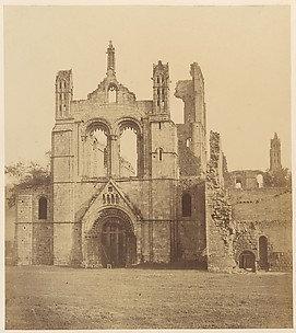 Kirkstall Abbey.  From the West
