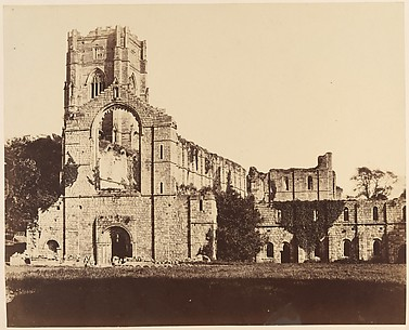 Fountains Abbey.  General Western Front
