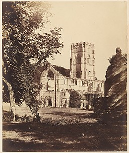 Fountains Abbey.  The Church, Cloister and Hospitium