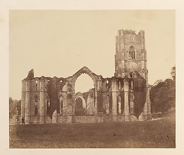 Fountains Abbey.  The Chapel of the Nine Alters, Exterior