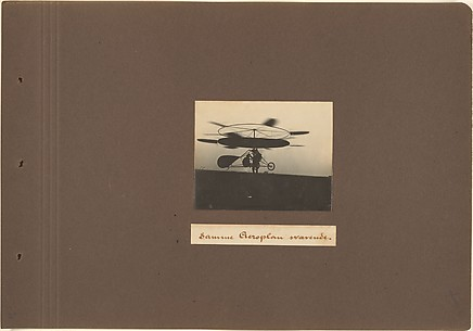 [Jacob Christian Hansen Ellehammer's Experiments in Early Aviation (1905-1919)]