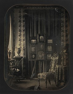 [The Salon of Baron Gros]