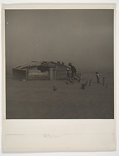 Father and Sons in a Dust Storm, Cimarron County, Oklahoma