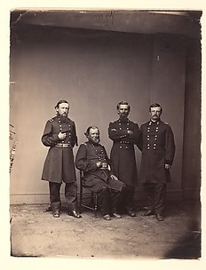 General William Ward and Staff