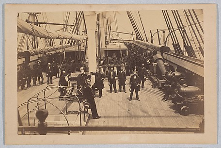 Deck of U.S. Ship Vermont