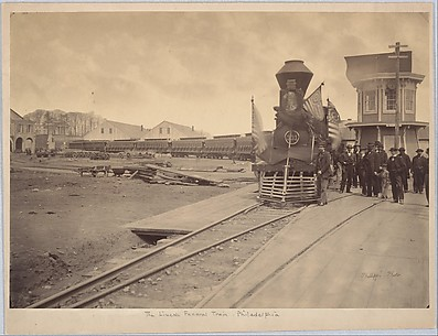 The Lincoln Funeral Train, Philadelphia
