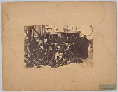 Contrabands Aboard U.S. Ship Vermont, Port Royal, South Carolina
