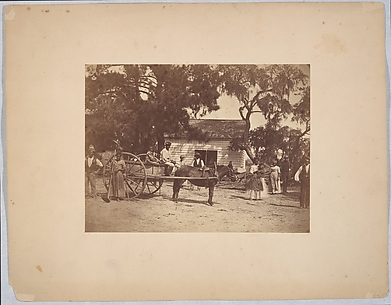 Negroes (Gwine to de Field), Hopkinson&#39;s Plantation, Edisto Island, South Carolina