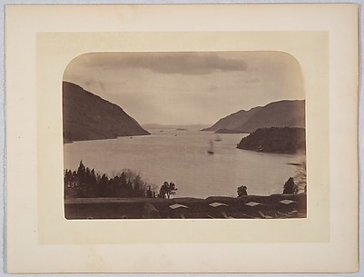 [Hudson River Seen from United State Military Academy at West Point, New York]