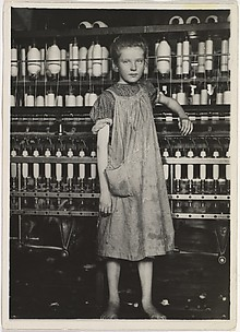 Spinner in a Cotton Mill, New England