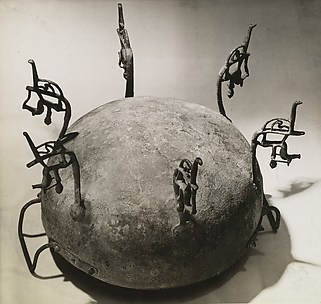 [Etruscan Cauldron of the 7th Century B.C., Upside Down]