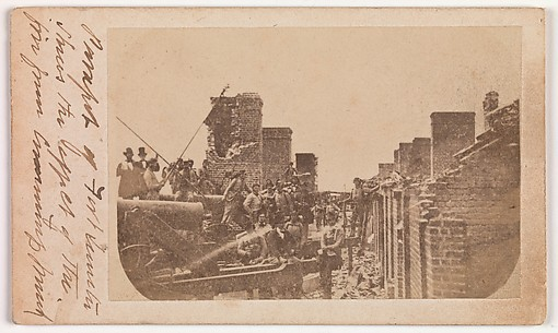 The Evacuation of Fort Sumter, April 1861