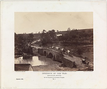 Antietam Bridge, On the Sharpsburgh and Boonsboro Turnpike, No. 3, September 1862