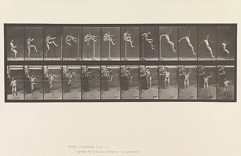Animal Locomotion.  An Electro-Photographic Investigation of Consecutive Phases of Animal Movements.  Commenced 1872 - Completed 1885.  Volume V, Man (Pelvis Cloth)