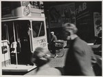[Street Scene with Double Decker Bus]