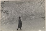 Woman Walking, Above, New York