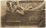 [Walker Evans Seated in Jalopy in the Berkshires, New York or Massachusetts]