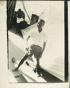 [Oliver Jennings Aboard the Cressida, South Seas Trip]