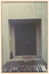 Door of Walker Evans' House, Old Lyme, Connecticut