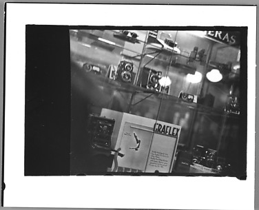 [Camera Store Window, New York City]
