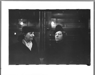 [Subway Passengers, New York City: Two Women]