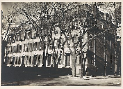 [Row of Second Empire Houses with Mansard Roofs, South Boston, Massachusetts]