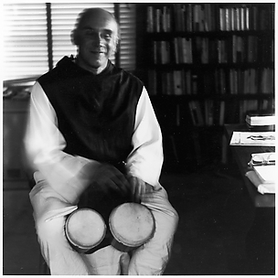 [Thomas Merton Playing Bongos]