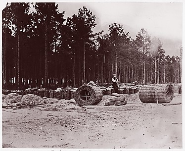 Gabions in Engineers' Camp, Petersburg