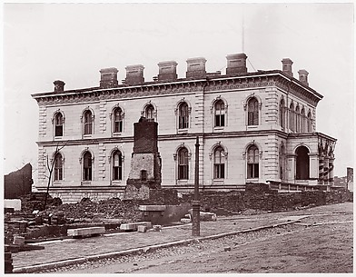 Custom House, Richmond, Virginia (after evacuation)