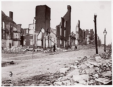 Ruins in Carey Street, Richmond