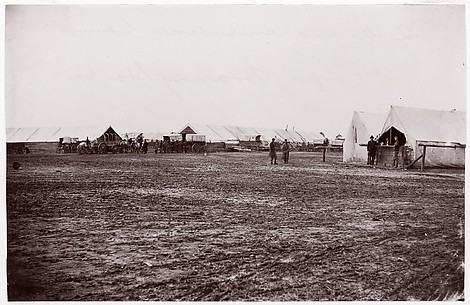 Quartermaster and Ambulance Camp, 6th Corps, Brandy Station, Virginia